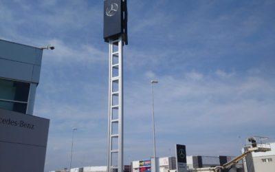 Wieża reklamowa